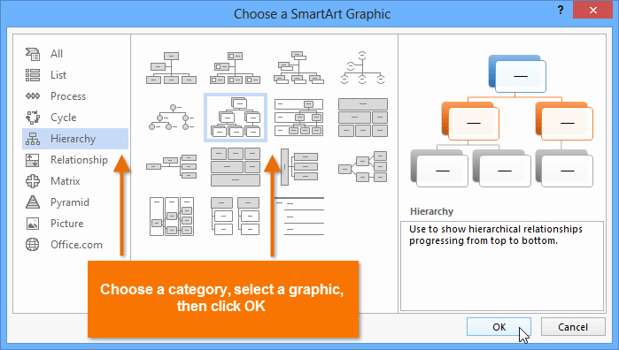 Free Smartart Graphics for Word Best Of Lession 38 Smartart Graphics Microsoft Fice