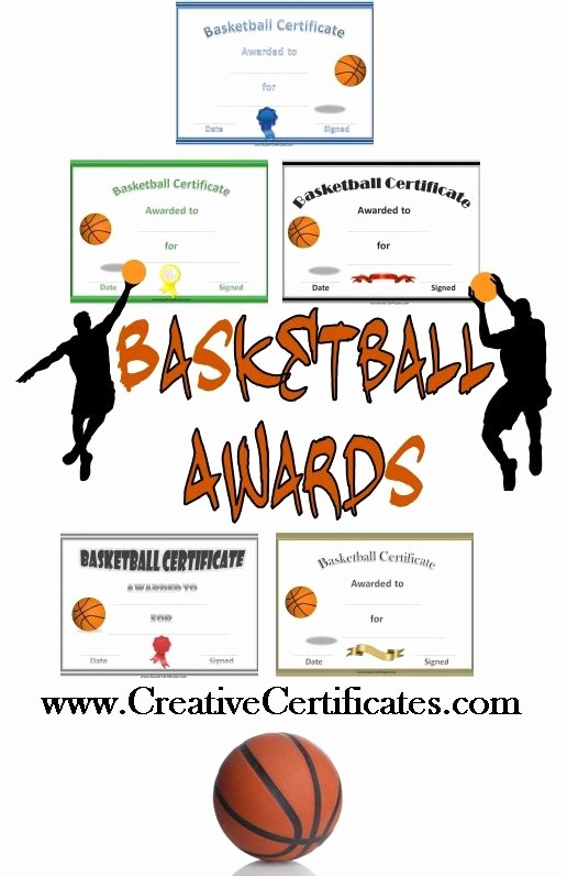 Free softball Certificates to Print Best Of Free Printable Basketball Certificates and Awards that Can