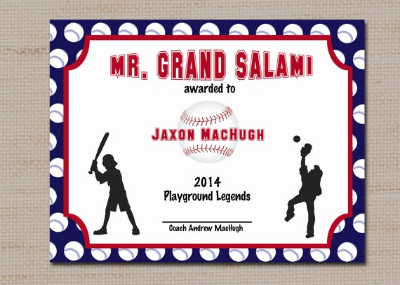 Free softball Certificates to Print Fresh Baseball Sports Award Certificate 8 5 X 11 Printable by