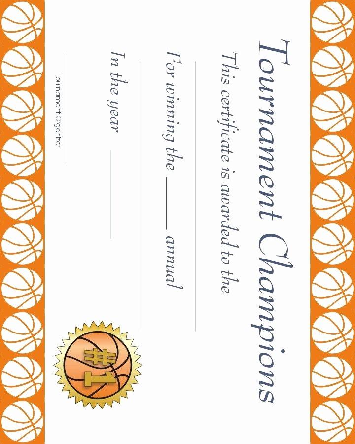 Free softball Certificates to Print New Free Printable Sports Certificate Basketball Award