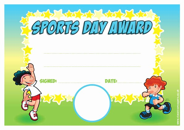 Free softball Certificates to Print New Personalised Certificates for Schools