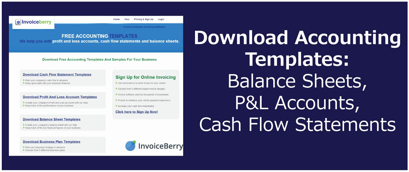 Free Statement Of Accounts Template Awesome Download Accounting Templates Balance Sheets P&l