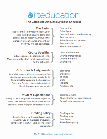 Free Syllabus Template for Teachers Awesome Create A Syllabus that Your Students Will Actually Want to