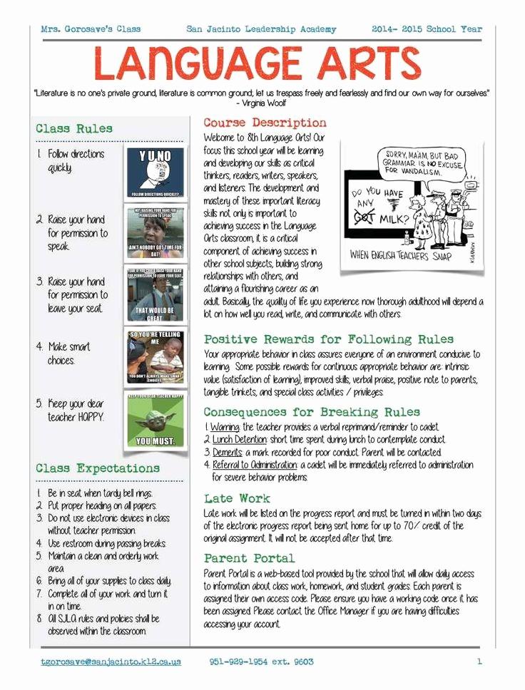 Free Syllabus Template for Teachers Beautiful Best 25 Syllabus Template Ideas On Pinterest