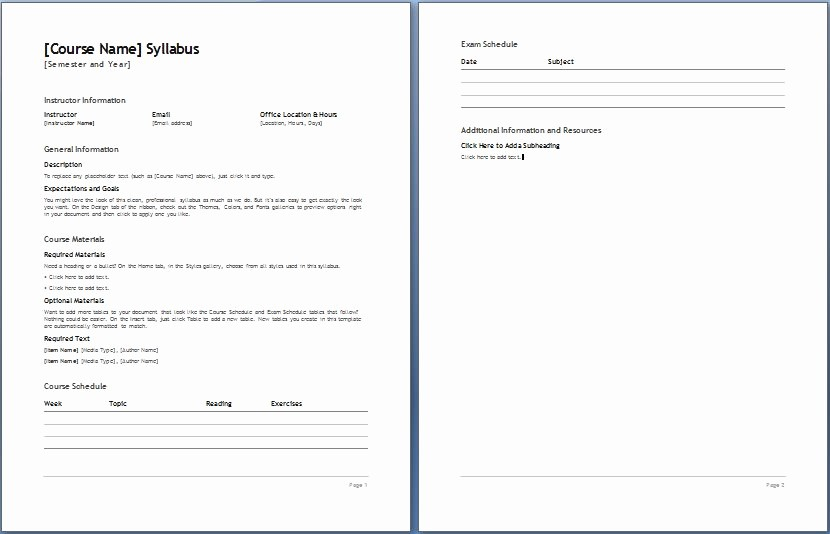 Free Syllabus Template for Teachers Fresh Pin Downloadable Syllabus Templates On Pinterest