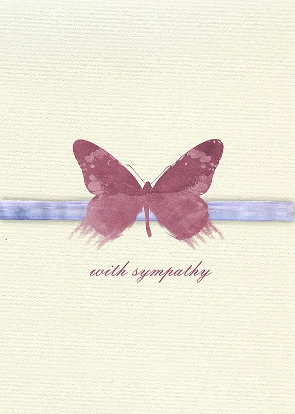 Free Sympathy Cards to Print Awesome 10 Sympathy Card Templates Psd Vector Eps