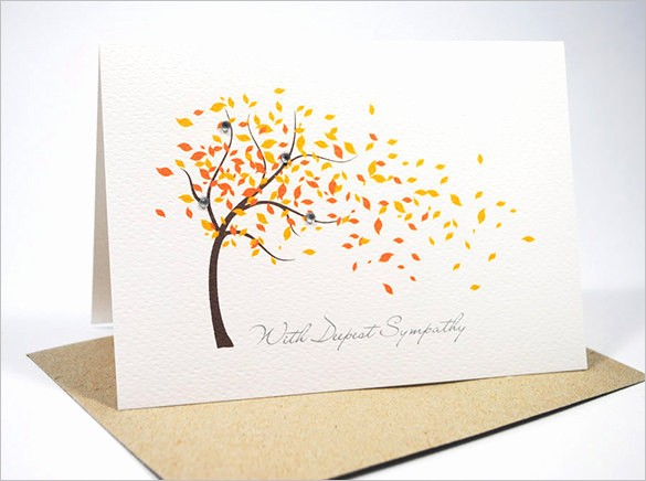 Free Sympathy Cards to Print Beautiful 13 Sympathy Card Templates Psd Ai Vector Eps