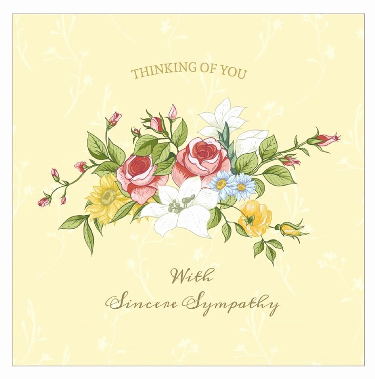 Free Sympathy Cards to Print Inspirational 7 Free Printable Condolence and Sympathy Cards