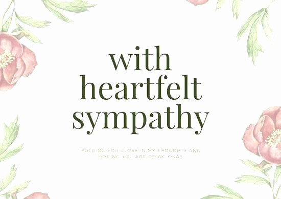 Free Sympathy Cards to Print Inspirational Print Out Sympathy Card Cards Condolence and More It Takes