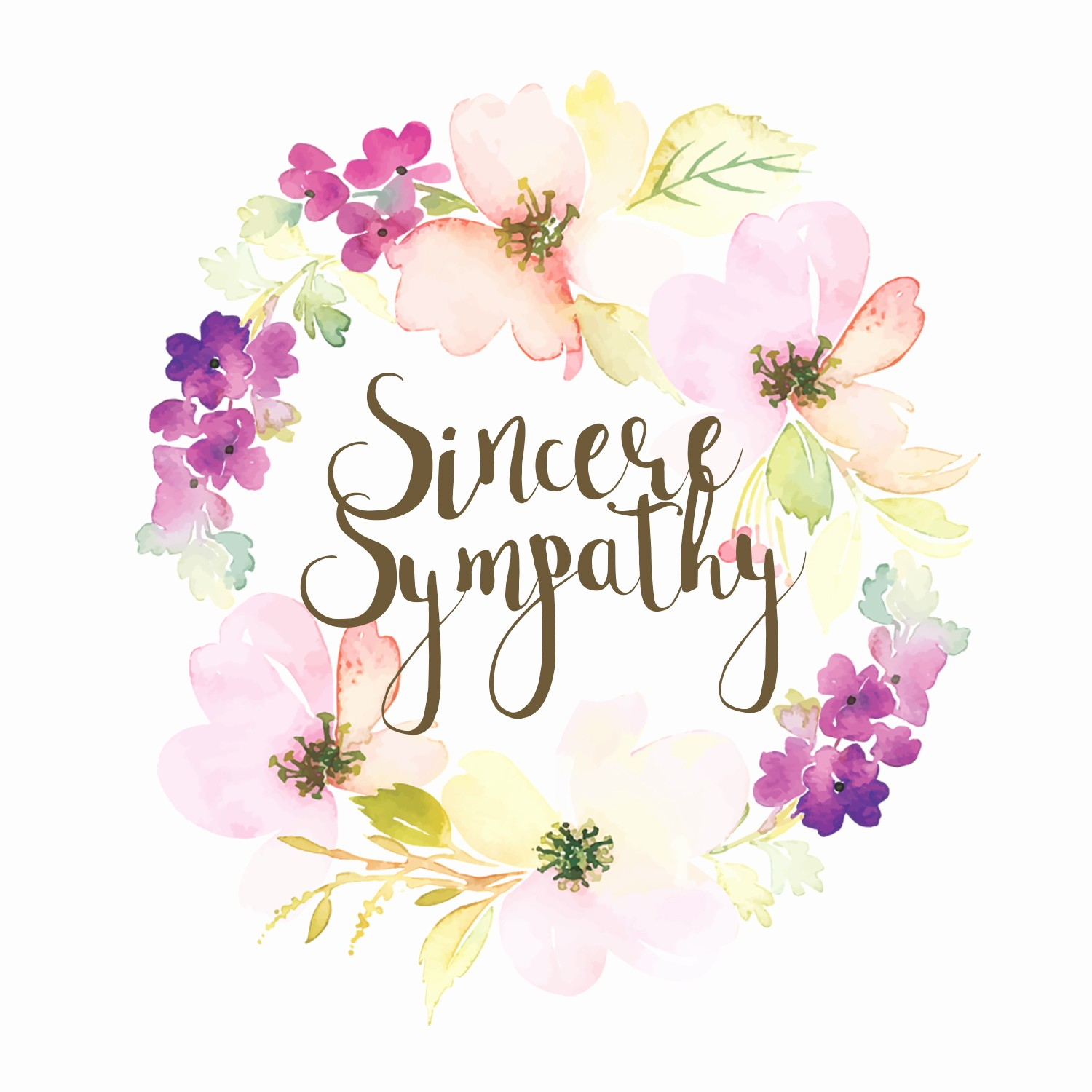 Free Sympathy Cards to Print Lovely Loved and Missed Free Sympathy & Condolences Card