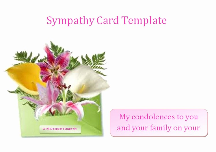 Free Sympathy Cards to Print Luxury 7 Best Of Bereavement Templates Printable Free