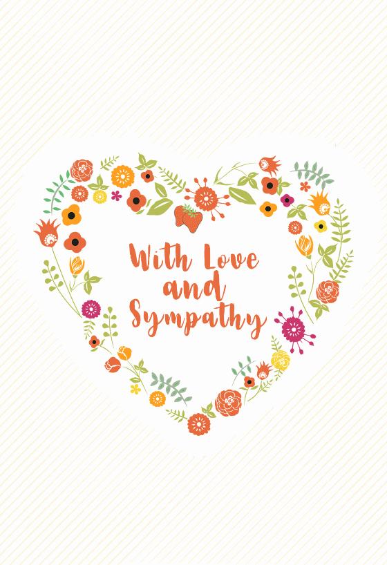 Free Sympathy Cards to Print Luxury Heartful Of Memories Free Sympathy & Condolences Card