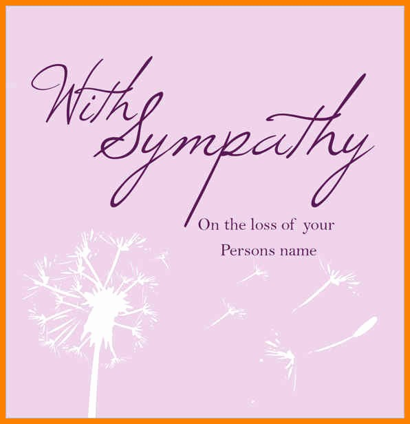 Free Sympathy Cards to Print Unique 5 Sympathy Card Template