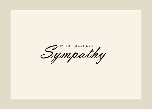 Free Sympathy Cards to Print Unique 7 Best Of Death Sympathy Card Free Printable