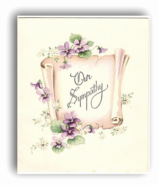 Free Sympathy Cards to Print Unique 8 Best Vintage Sympathy Cards Images On Pinterest