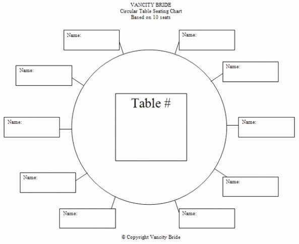 Free Table Seating Chart Template Awesome 4 Best Of Printable Blank Wedding Seating Charts