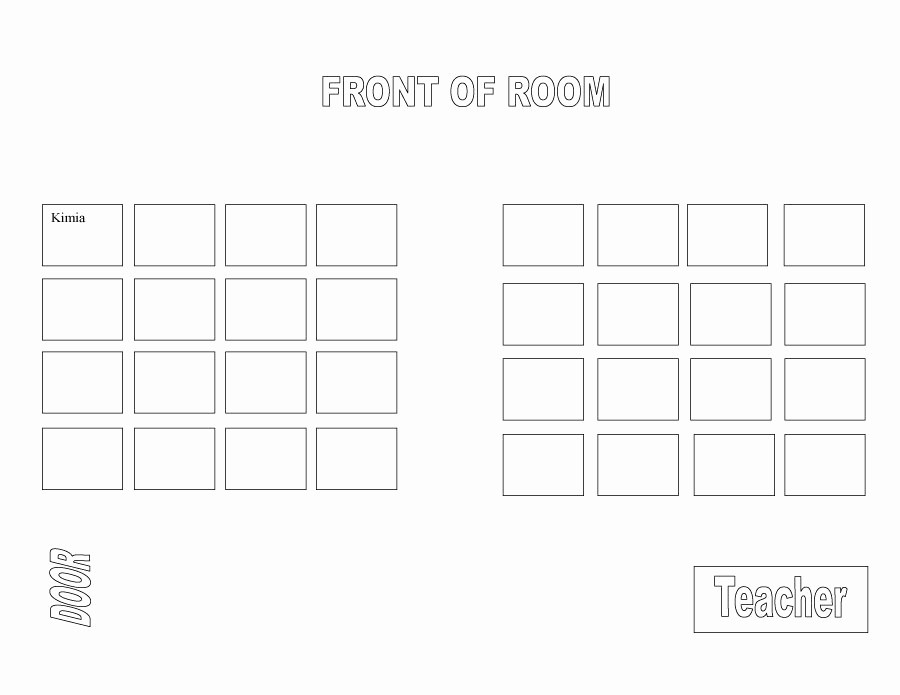 Free Table Seating Chart Template Best Of 40 Great Seating Chart Templates Wedding Classroom More