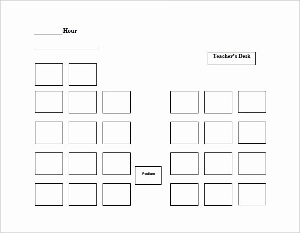 Free Table Seating Chart Template Inspirational 24 Seating Chart Templates Doc Pdf