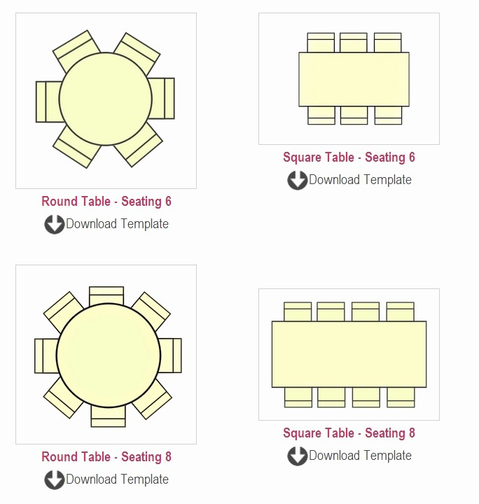 Free Table Seating Chart Template Inspirational Seating Chart Template