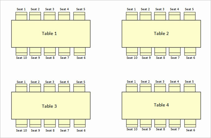Free Table Seating Chart Template Lovely Wedding Seating Chart Template