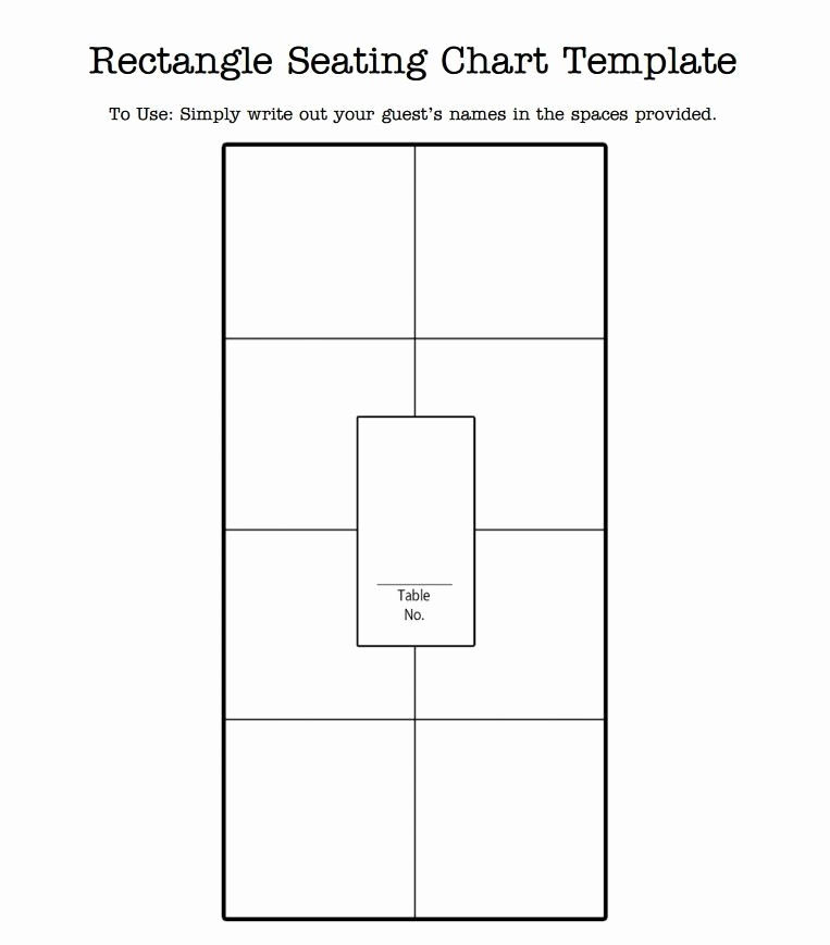 Free Table Seating Chart Template Unique Seating Chart Template Beepmunk