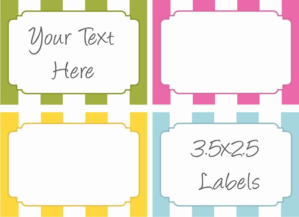 Free Tag Templates for Word Beautiful 6 Best Of Design Free Printable Label Template Word