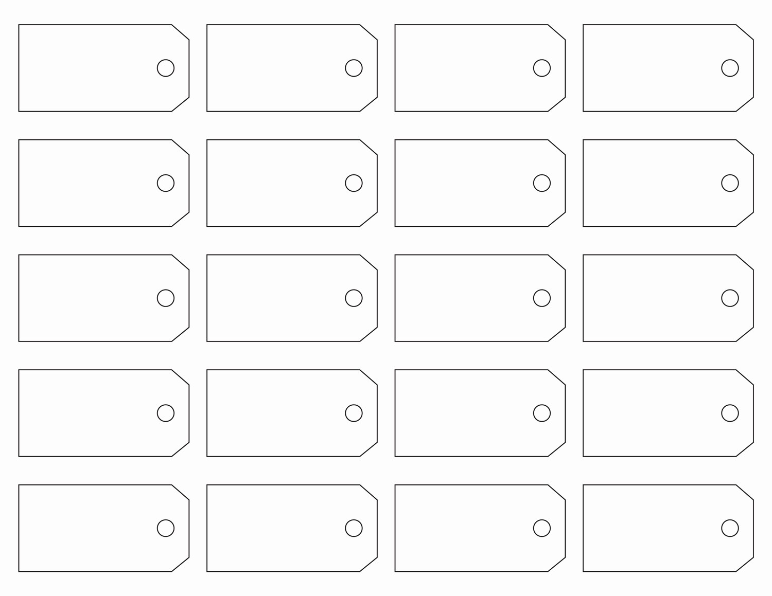 Free Tag Templates for Word Beautiful Printable Price Tag Templates