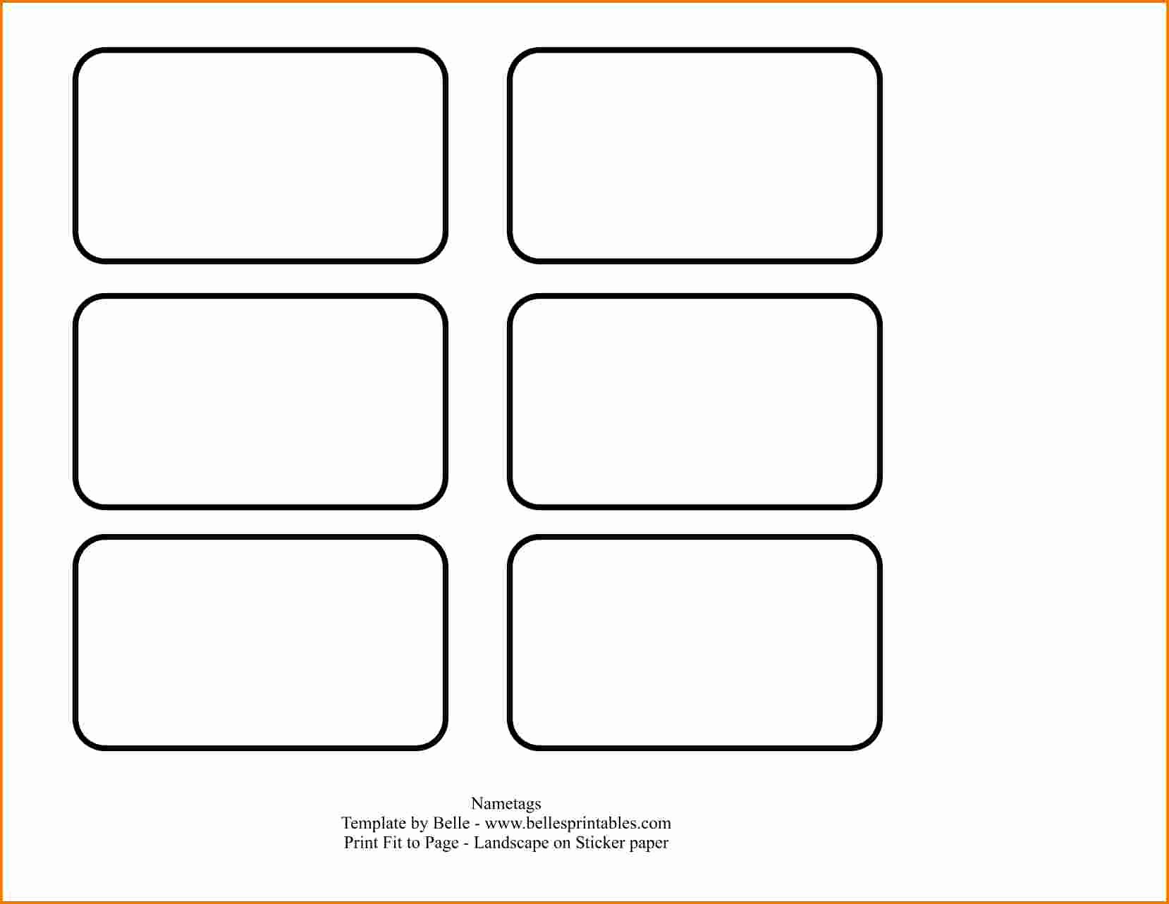 Free Tag Templates for Word Best Of 4 Name Tag Template Word