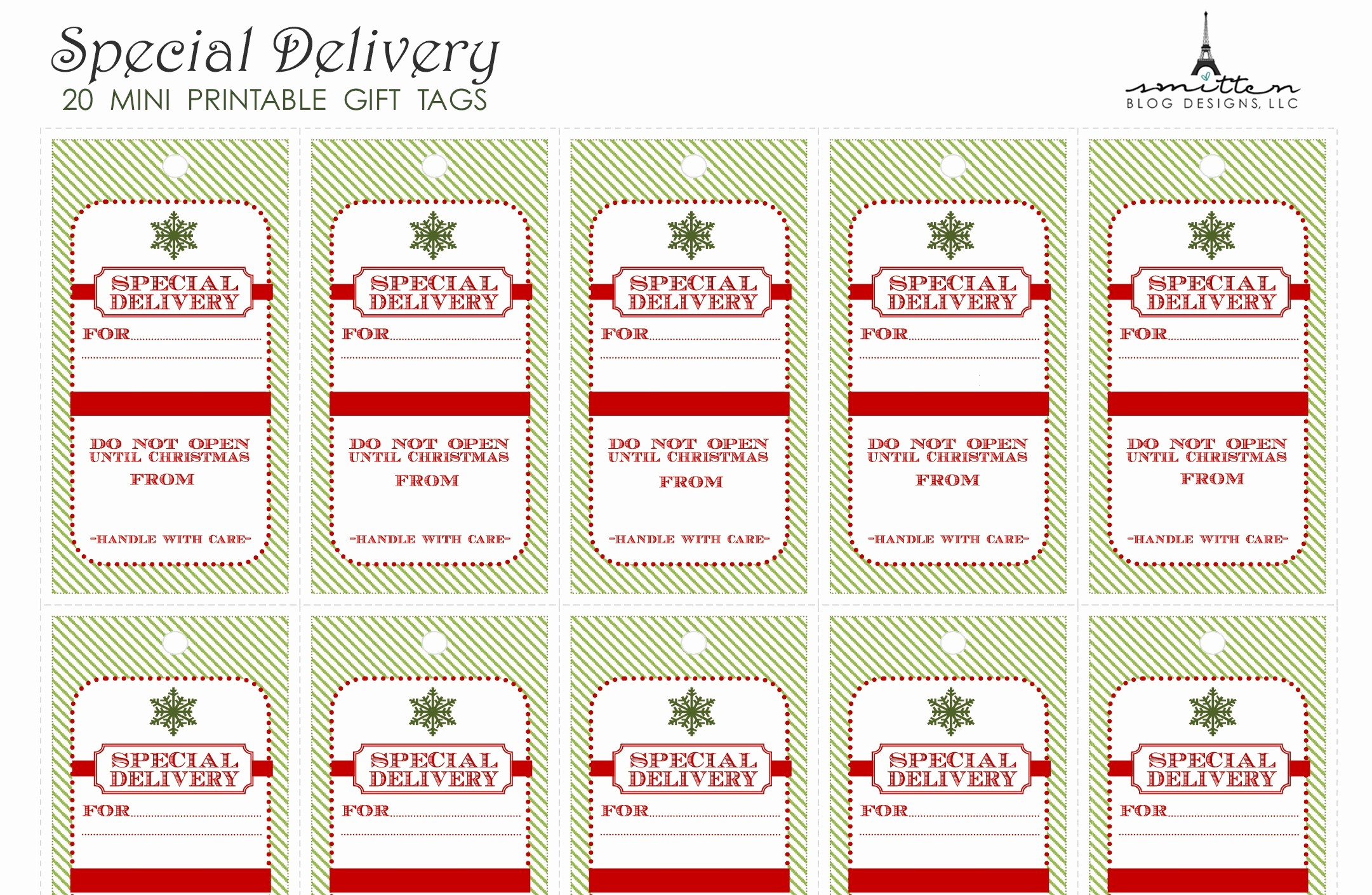 Free Tag Templates for Word Inspirational Free Printable Christmas Gift Tag Templates for Word