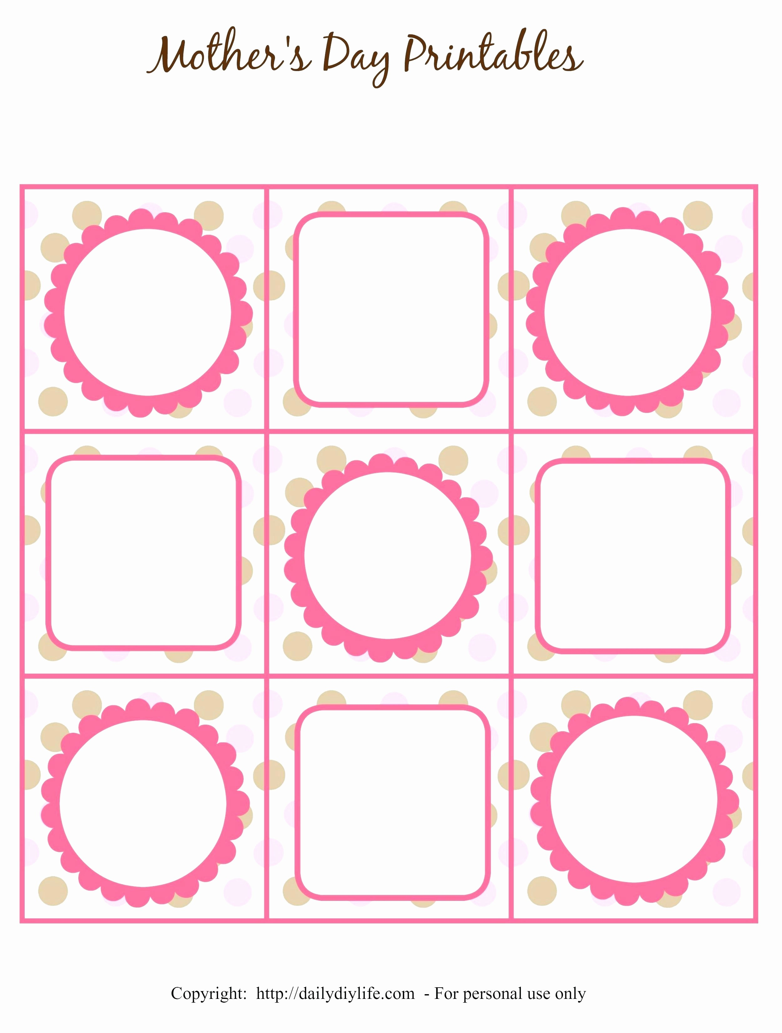 Free Tag Templates for Word Lovely Gift Tag Template Word