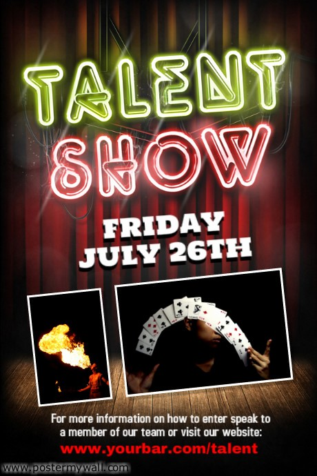 Free Talent Show Flyer Template Beautiful Talent Show Flyer Template
