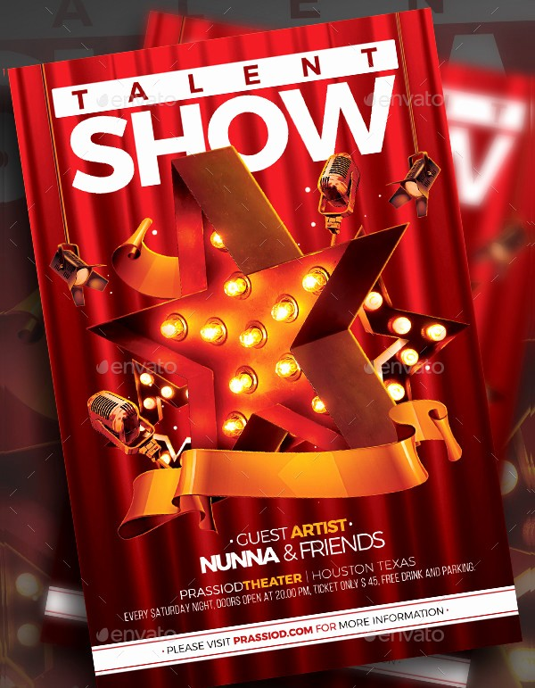 Free Talent Show Flyer Template Best Of Talent Show Flyer Templates 19 Free & Premium Download