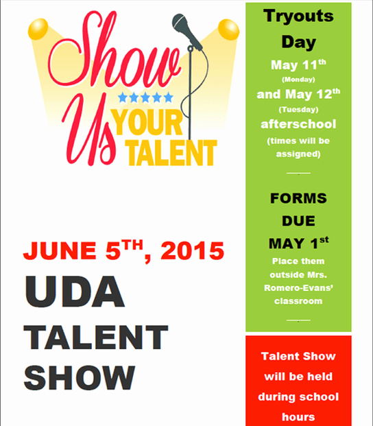 Free Talent Show Flyer Template Luxury Amazing Talent Show Flyer Templates Word Excel Samples