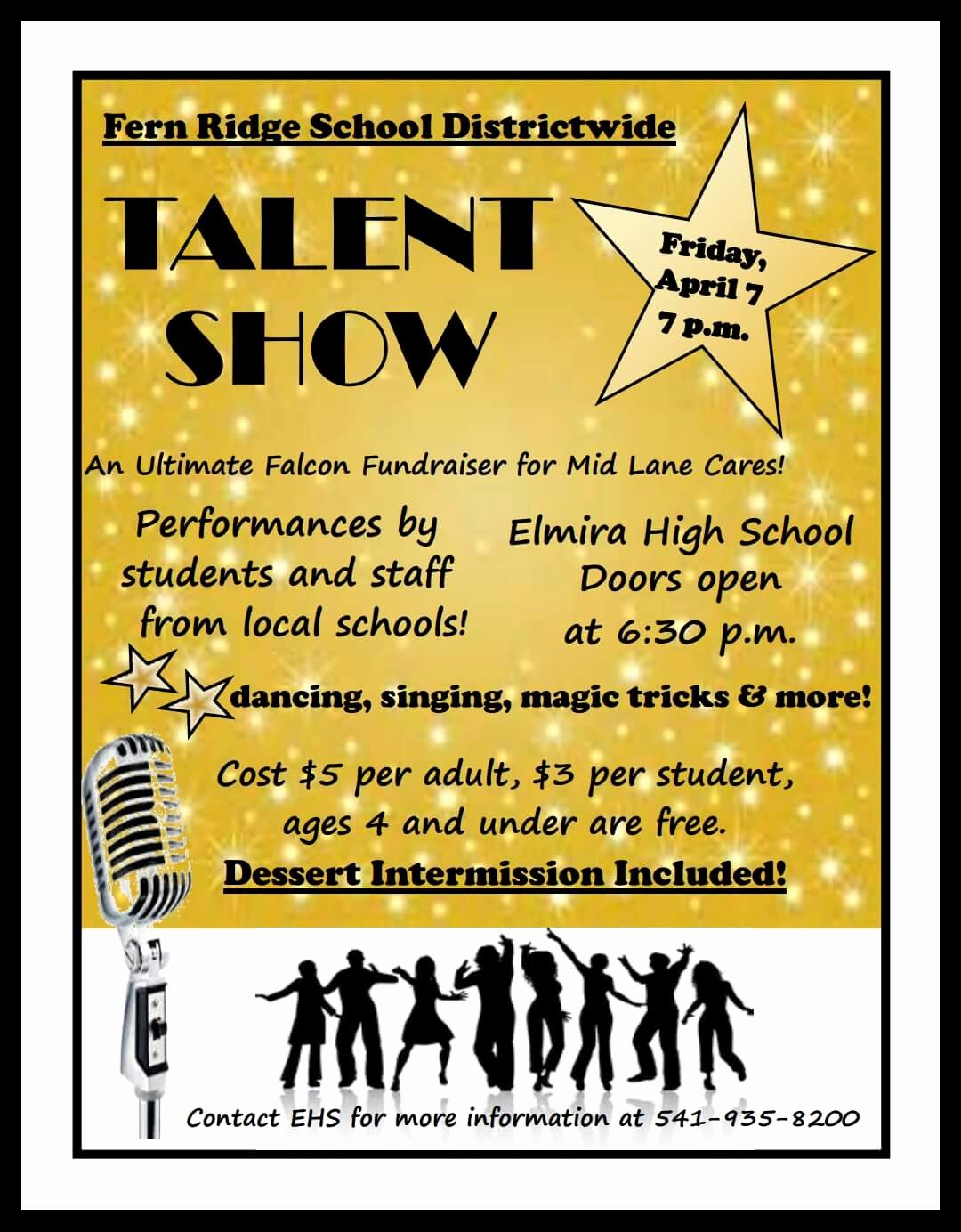 Free Talent Show Flyer Template Unique Elmira High School