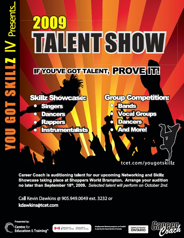 Free Talent Show Flyer Templates Beautiful Poster and Flyer Designs Sample
