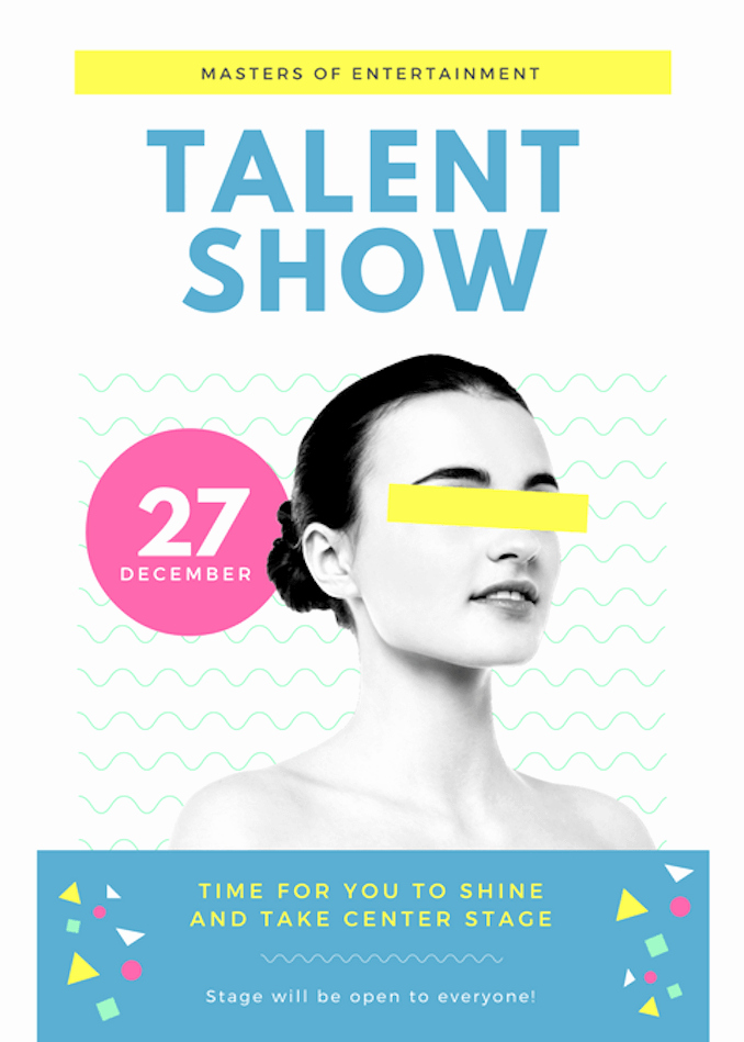 Free Talent Show Flyer Templates Inspirational Talent Show Flyer Template Clipart
