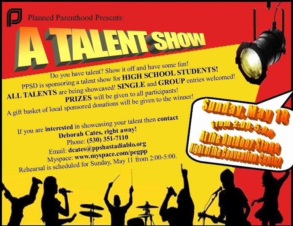 Free Talent Show Flyer Templates New Talent Show Quotes Quotesgram