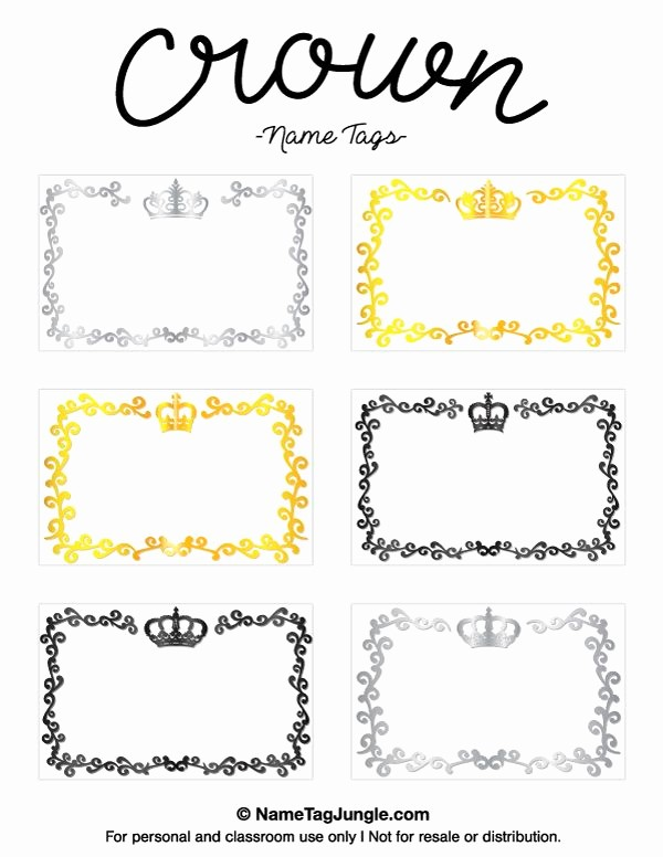 Free Template for Name Tags Awesome Pin by Muse Printables On Name Tags at Nametagjungle