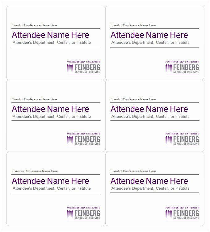 Free Template for Name Tags Beautiful Name Tag Template