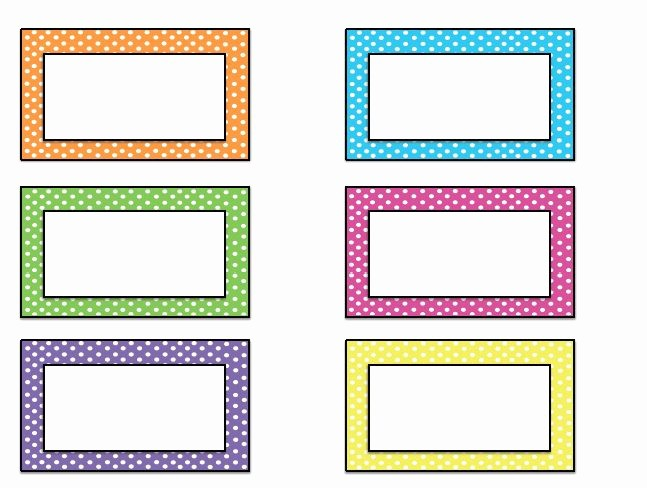 Free Template for Name Tags Elegant Free Name Tag Templates Kindergarten