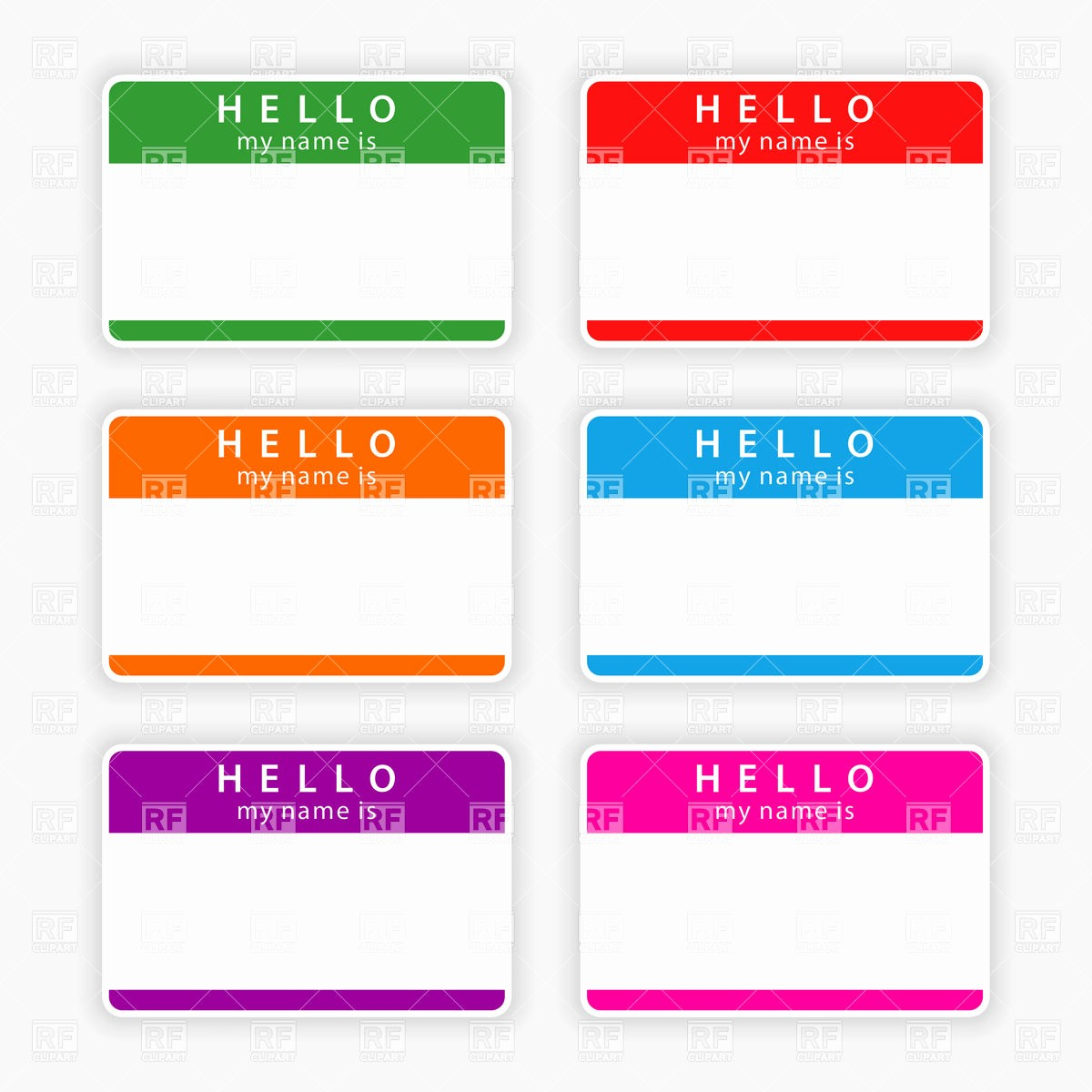 Free Template for Name Tags Lovely Best S Of Name Tag Templates Hello My Name Tag