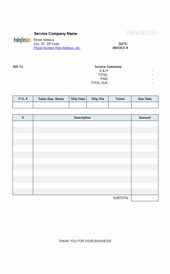 Free Templates for Billing Invoices Unique Medical Invoice Template 2