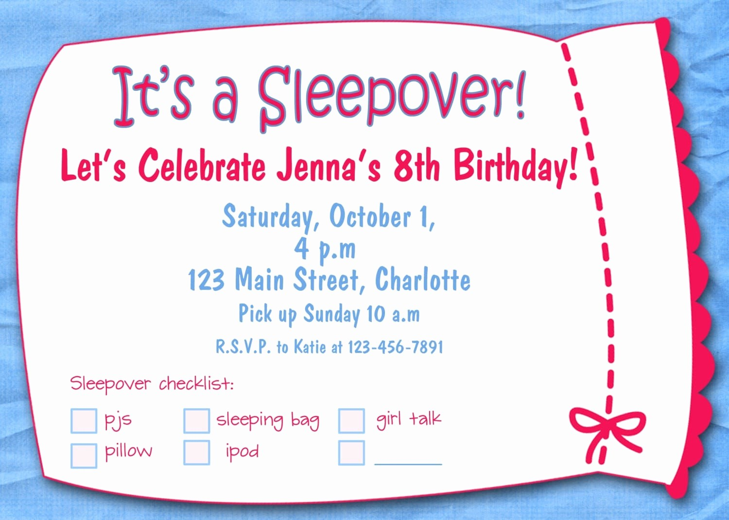 Free Templates for Birthday Invitations Best Of Girl Party Invitation Templates Free