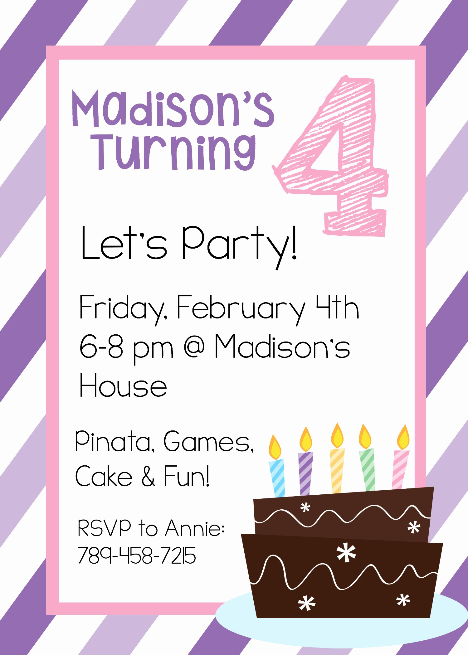 Free Templates for Birthday Invitations Elegant Free Printable Birthday Invitation Templates