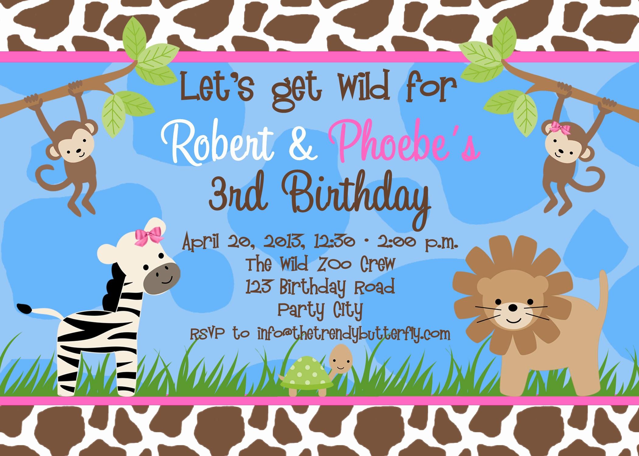 Free Templates for Birthday Invitations New Free Birthday Party Invitation Templates