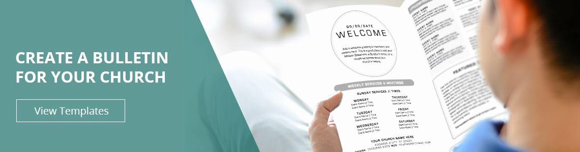 Free Templates for Church Bulletins Awesome Church Bulletins Bulletin Printing Template