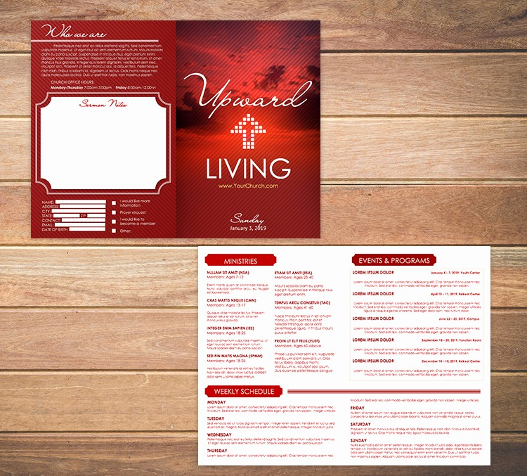 Free Templates for Church Bulletins Best Of Free Church Bulletin Templates 8 Professionally Designed