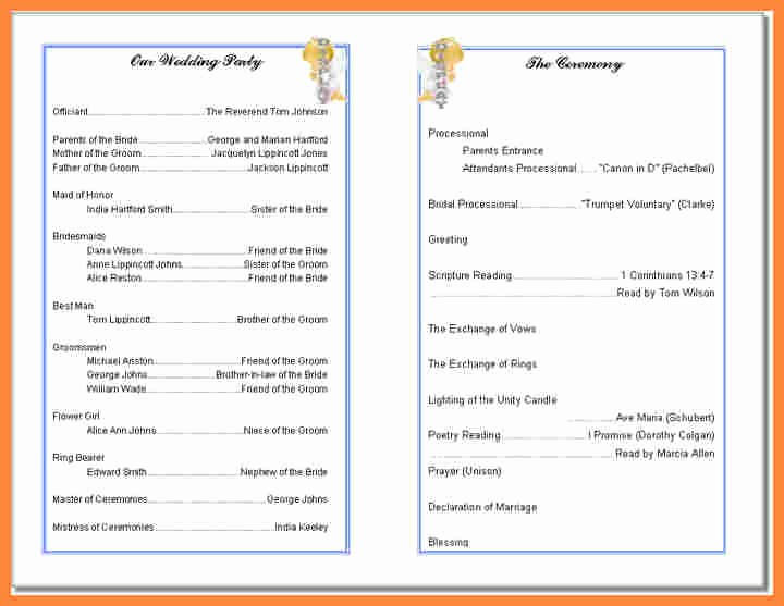 Free Templates for Church Bulletins Best Of Free Printable Church Bulletin Templates