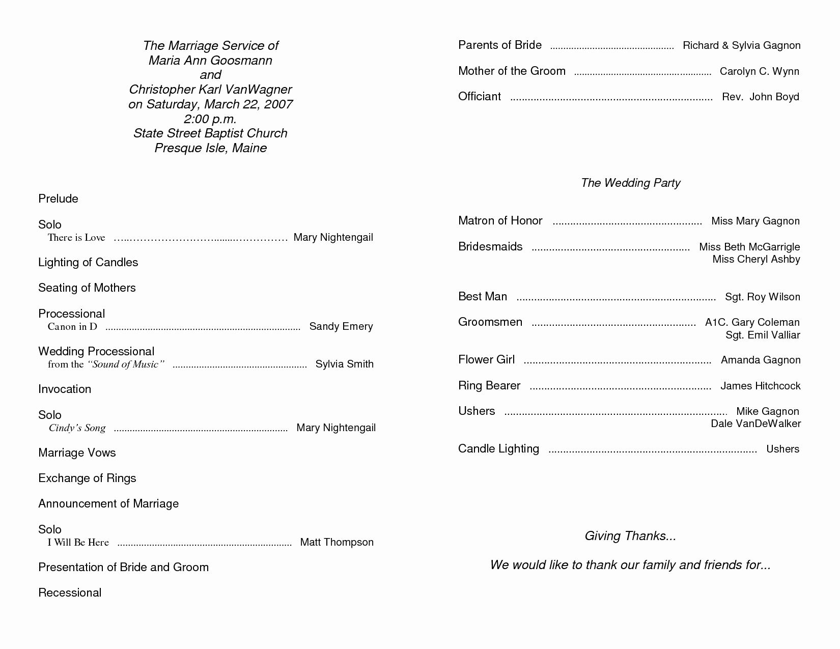Free Templates for Church Bulletins Inspirational Free Printable Church Bulletin Templates