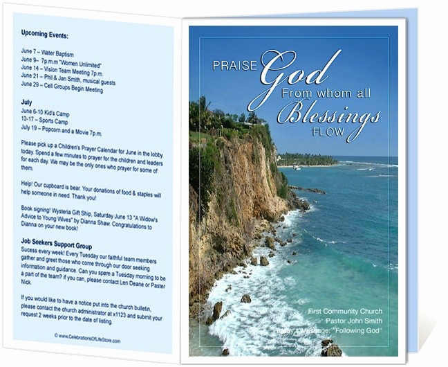 Free Templates for Church Bulletins New 14 Best Images About Printable Church Bulletins On